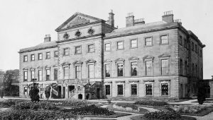 pix paul lewis (Nth Wales tel 07836 797910) lost mansions..lathom hall nr ormskirk lancashire..mansion replaced by tachnology