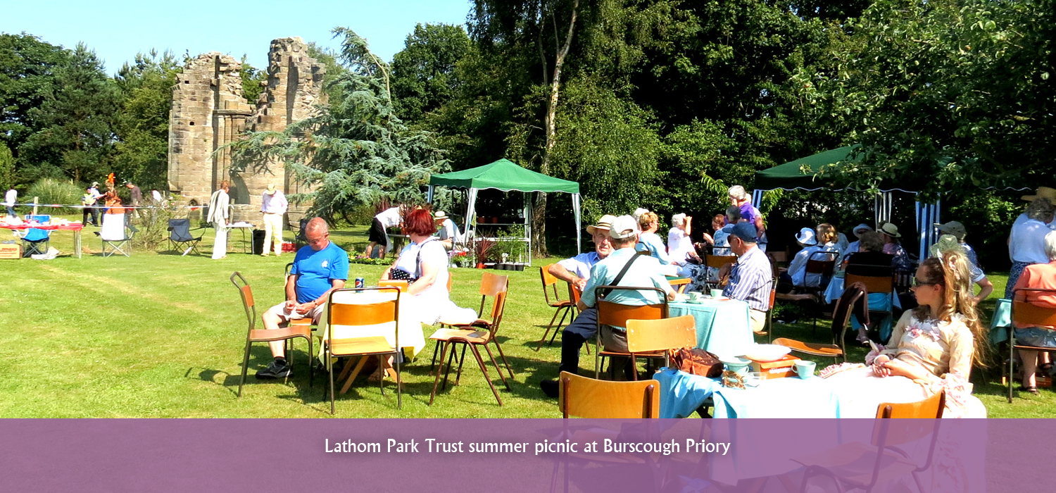 Summer Picnic at Burscough Priory